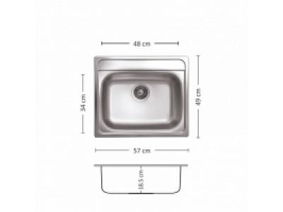 Мивка Compakt 570 SI